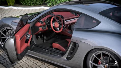 porsche cayman interior 2017 porsche cayman 718 interior by dangeruss on deviantart
