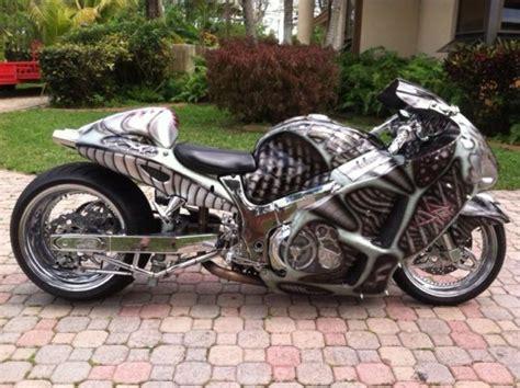 Suzuki Hayabusa Fully Custom Beautiful Bike