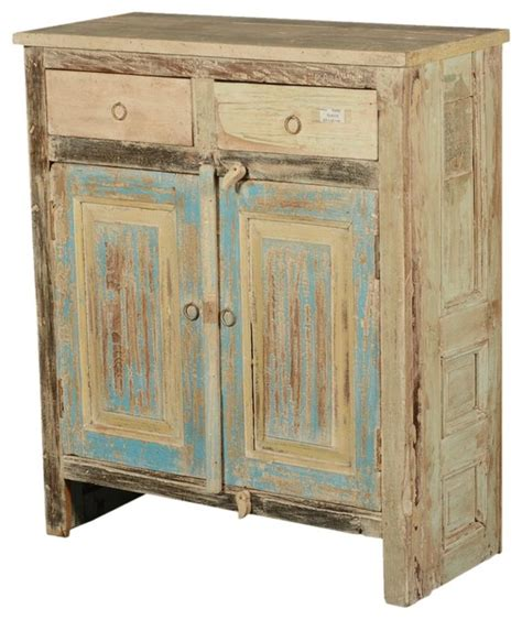 rustic accent cabinet paint box rustic reclaimed wood 34 quot storage cabinet