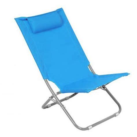 chaises de plage chaise de plage pliante caparica helsinki bleu achat