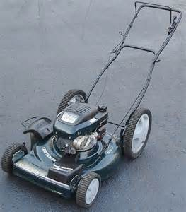 Craftsman Lawn Mower Big Wheel