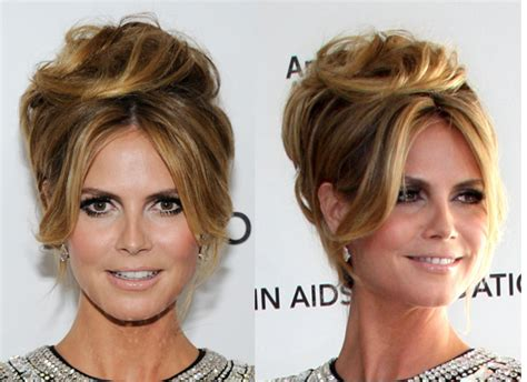 Heidi Klum R E Wind The Hottest Hairstyles Of The 2010