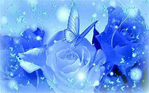 Blue Roses Backgrounds - Wallpaper Cave