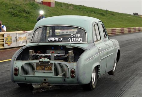 Monster Racing: Another VW engine in Renault Dauphine...