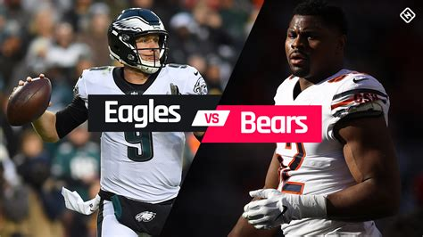 Eagles Bears eagles  bears time tv channel 1920 x 1080 · png
