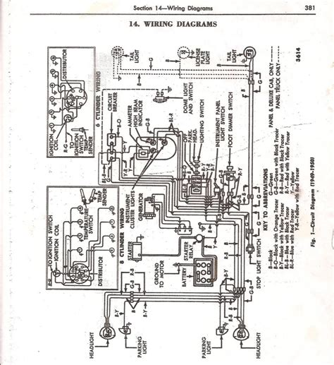 Wiring Diagram 1951 F1 Ford Truck by 51 F1 Headlight Switch Diagram Ford Truck Enthusiasts Forums