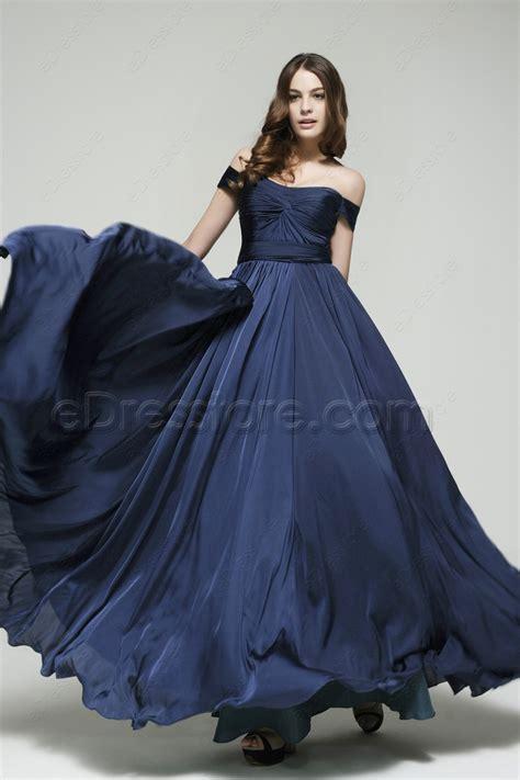 what color prom dress should i get the shoulder navy blue prom dresses