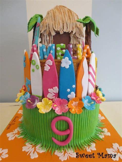 Hawaiian Cake Decorations by 25 Best Ideas About Hawaii Cake On Pinterest Hawaiian