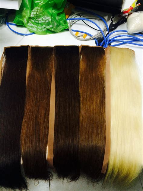 colored extensions ponytails hair extension any colored