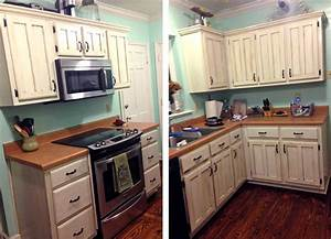 antique white kitchen makeover general finishes design With kitchen colors with white cabinets with how do rfid stickers work