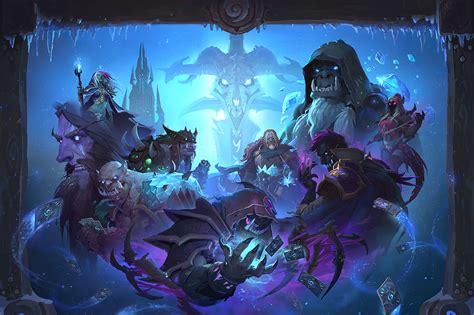 Priest Decks Knights Of The Frozen Throne by Hearthstone S Knights Of The Frozen Throne Expansion Komt