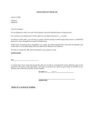 Canada Employment Agreement Template | Legal Forms and Business Templates | MegaDox.com
