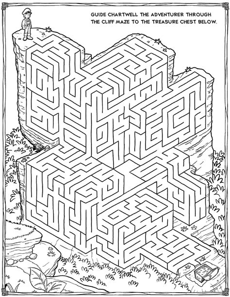 Printable Mazes For Adults For Brain Therapy And Practice  Dear Joya  Maze  Mazes For Kids