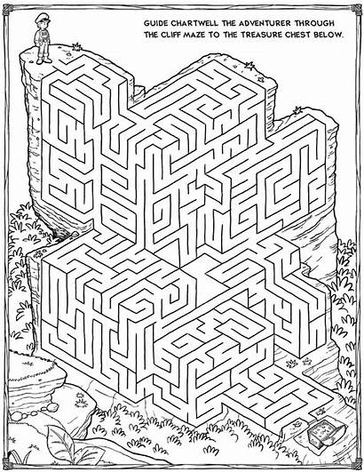 Mazes Printable 3d Coloring Pages