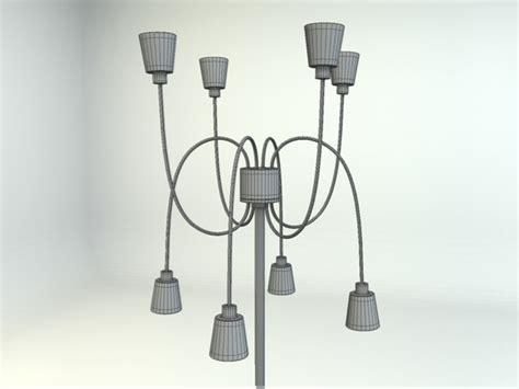 Ikea Kryssbo Floor Lamp 3d Model