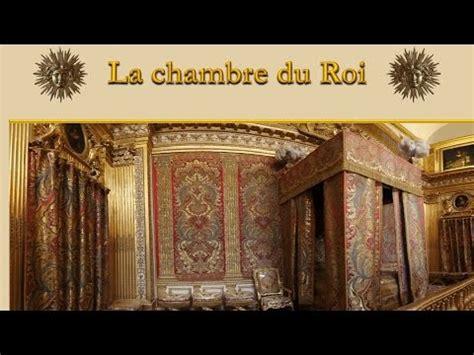 la chambre du roi louis xiv à versailles