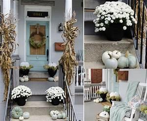 Easy, Fall, Porch, Decor, Ideas