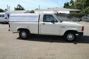 1989 Ford Ranger W   Bed Cap Manual 4 Cylinder No Reserve