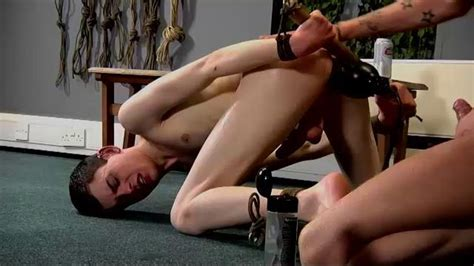 Twink Gets To Have Lots Of Anal Toys Gay Pornotube