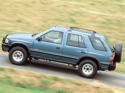 opel frontera 1995 opel frontera 1992 1995 reviews technical data prices