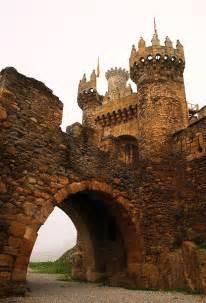 Ponferrada Castle Galicia Spain