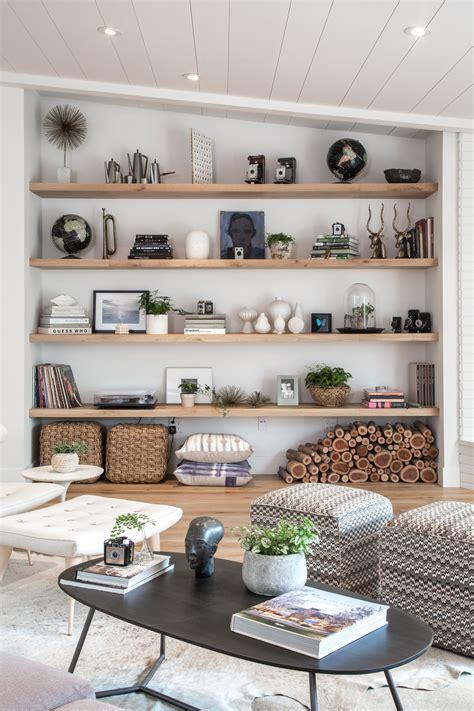 living room open shelf styling bethany nauerts portfolio residential home   room shelves room decor living room decor