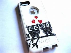 Shoes: owl case, bling case, owl, iphone case, iphone 5c ...