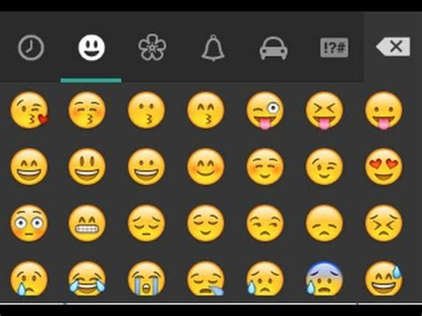 whatsapp emoticons    chat  android