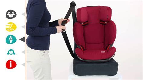 installation siege auto bebe siège auto groupes 2 et 3 rodifix airprotect de bebe