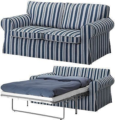 Ektorp Sleeper Sofa Slipcover by New Ikea Ektorp Sofabed Sofa Bed Cover Slipcover Abyn Blue
