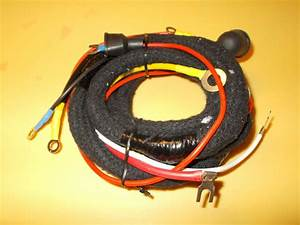 Ford 8n Wiring Harness 6 Volt Front Mount Distributor 1948