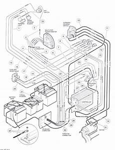 1995 2003 Electric 48 Volt Wiring Diagram