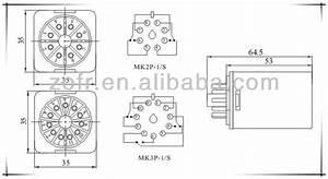 Omron Type Mk2p 8 Pin Relay