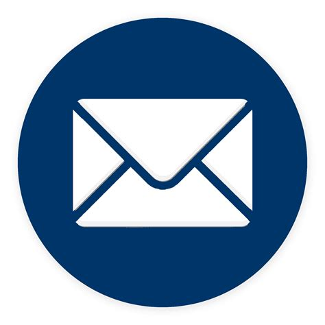 15175 email icon png icone mail bleu fonce asr