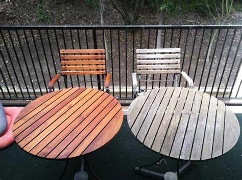 teak furniture care  maintenance cabin outdoor wood
