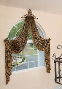 Curved Curtain Rod For Arched Window Treatments by Best Selections Of Curtains For Arched Windows Homesfeed