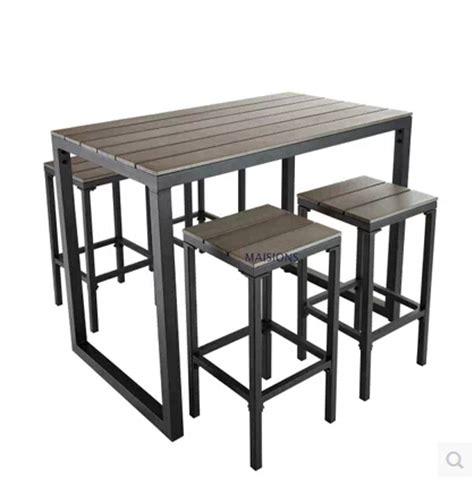 plateau de table de cuisine beau table haute pour cuisine 2 table de bar