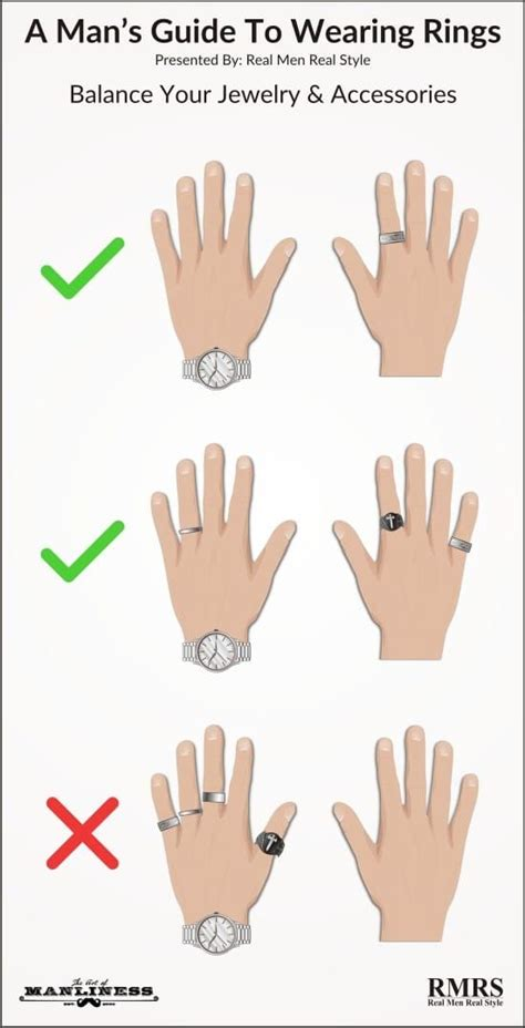 a man s guide to wearing rings i do making a sustainable wedding how to wear rings men