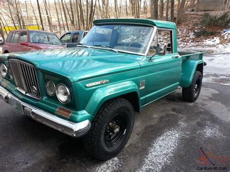 jeep gladiator 1966 1966 jeep gladiator j2000 thriftside pick up truck