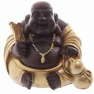 Signification Des 6 Bouddhas : bouddha rieur chinois or et marron avec fortune c statuettes et figurines bouddhas arc en ~ Melissatoandfro.com Idées de Décoration