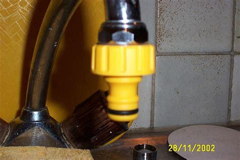 raccord tuyau d arrosage et robinet de cuisine changer de l 39 eau