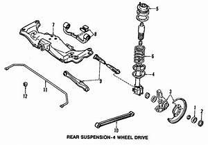 Mazda 323 Suspension Strut  Components  May  Make