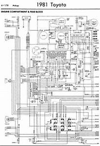 Toyota Pickup 1981 Wiring Diagrams