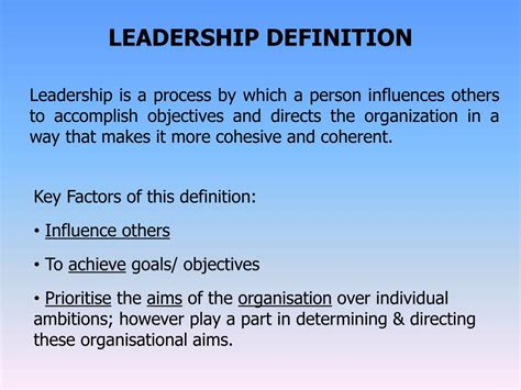 definition  leadership examples  forms