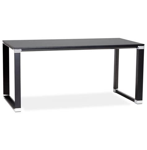 bureau bois noir bureau droit design xline en bois noir bureau de direction
