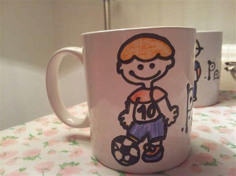 nino futbolista mugs glassware tableware