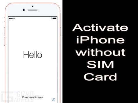 activate iphone how to activate iphone without sim card or wi fi