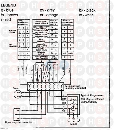 ideal w2000 rs 40 wiring diagram 4 diagram heating spare parts