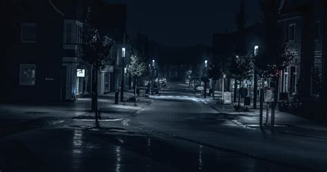 road street night outdoors cityscape evening  hd