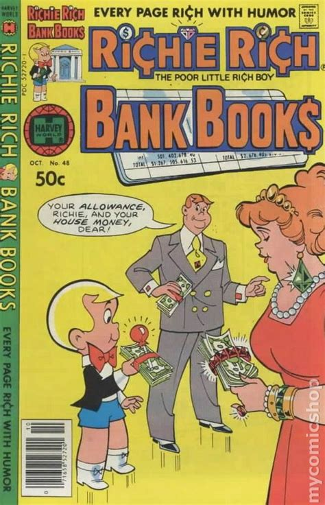 Richie Rich Bank Books (1972) Comic Books